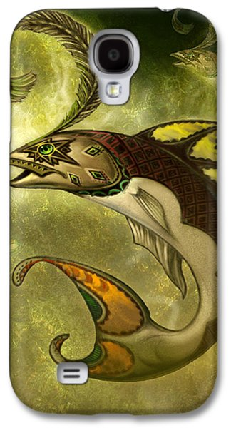 Emerald Fish Galaxy S4 Case by Jeff Haynie
