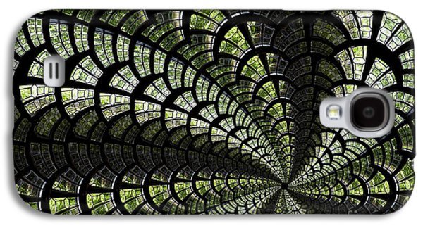 Emerald Whirl. Galaxy S4 Case by Clare Bambers