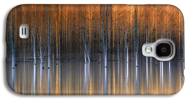Emerging Beauties Reflected Galaxy S4 Case by Marco Crupi