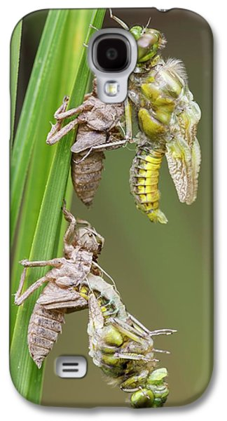 Emerging Chaser Dragonflies Galaxy S4 Case by Heath Mcdonald