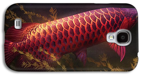 Emerging Red Galaxy S4 Case by Javier Lazo