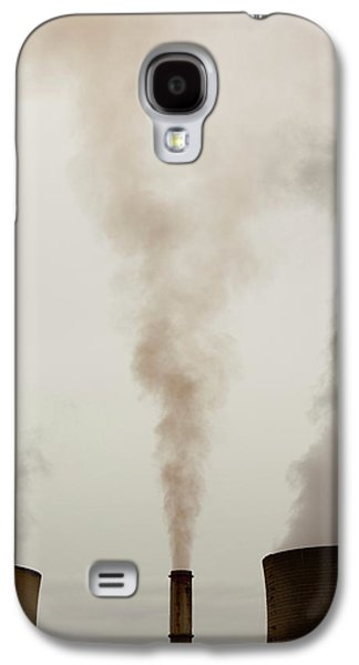 Emissions From A Coal Fired Power Station Galaxy S4 Case
