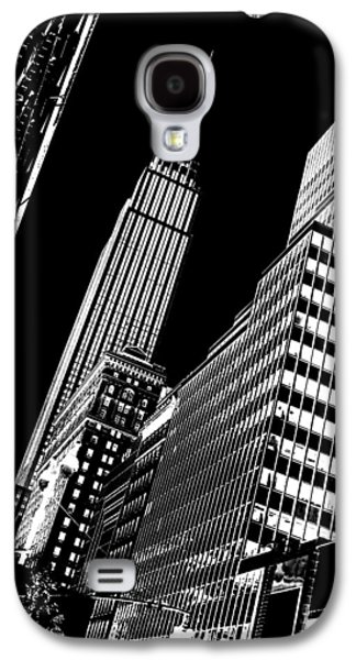 Empire State Building Galaxy S4 Case - Empire Perspective by Az Jackson