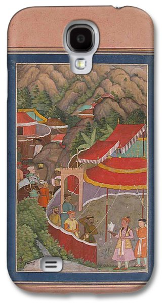 Encampment In The Hills Galaxy S4 Case by Celestial Images