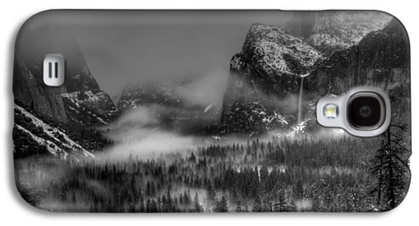 Enchanted Valley In Black And White Galaxy S4 Case