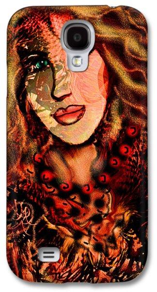 Enchanting Woman Galaxy S4 Case