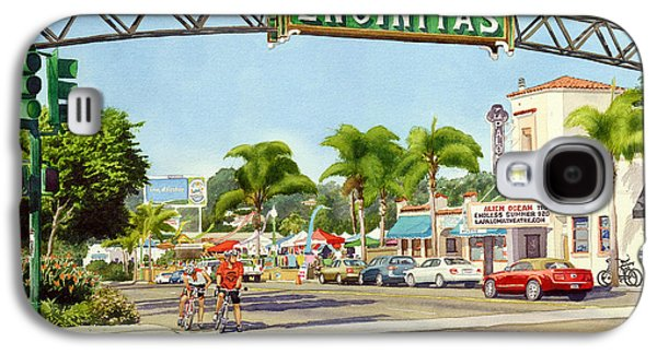 Downtown Galaxy S4 Case - Encinitas California by Mary Helmreich