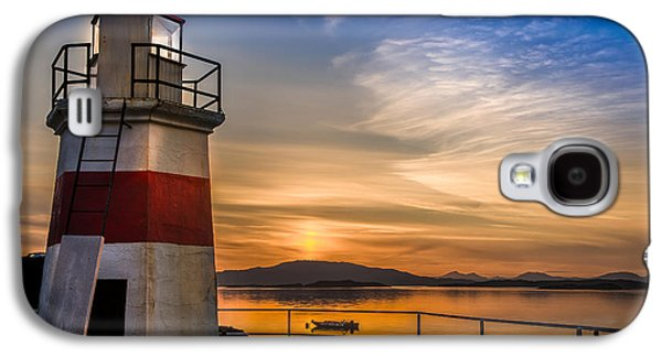 Lighthouse Crinan Canal Argyll Scotland Galaxy S4 Case