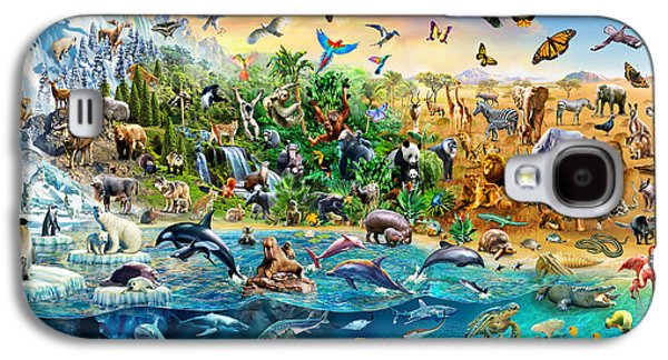 Endangered Species Galaxy S4 Case by Adrian Chesterman