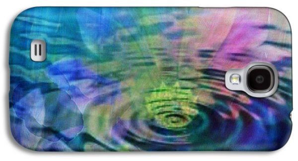 Energy Ripples Galaxy S4 Case by PainterArtist FIN