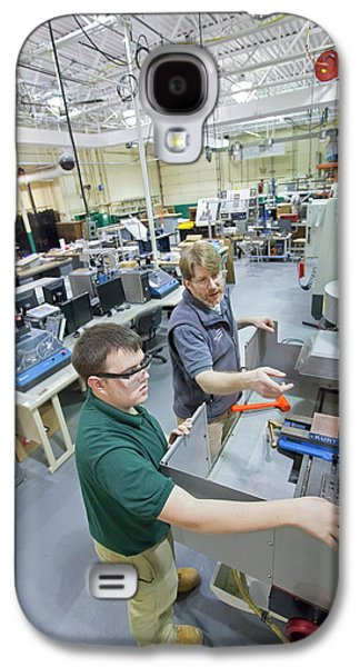 Engineering Academy Workshop Lesson Galaxy S4 Case by Jim West
