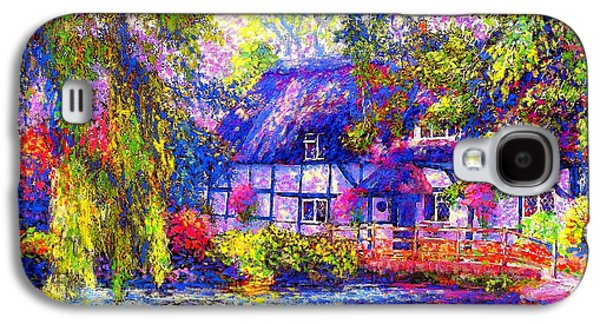 English Cottage Galaxy S4 Case