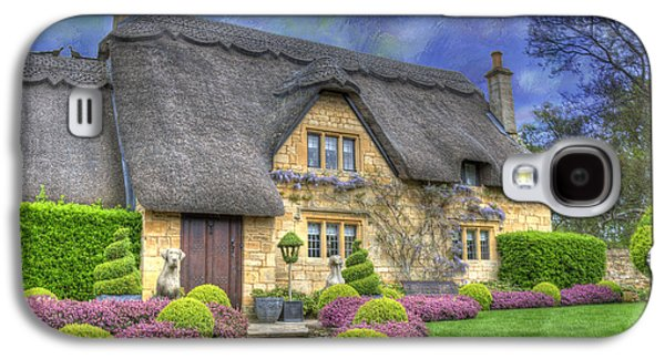 English Country Cottage Galaxy S4 Case