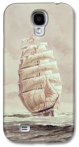 English Wool Clipper Galaxy S4 Case by Anonymous