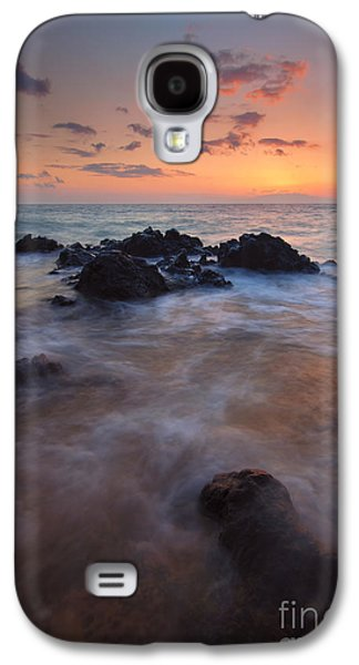 Engulfed By The Waves Galaxy S4 Case by Mike  Dawson