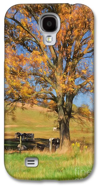 Enjoying The Autumn Shade Galaxy S4 Case by Lois Bryan