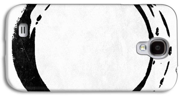 Enso No. 107 Black On White Galaxy S4 Case