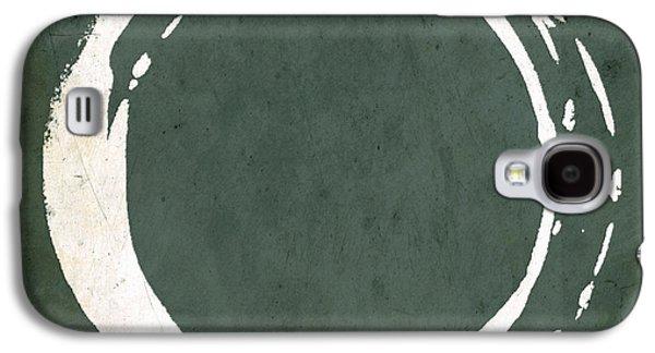 Enso No. 107 Green Galaxy S4 Case