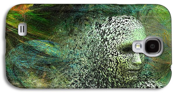 Abstract Movement Galaxy S4 Case - Entering A New Dimension by Michael Durst