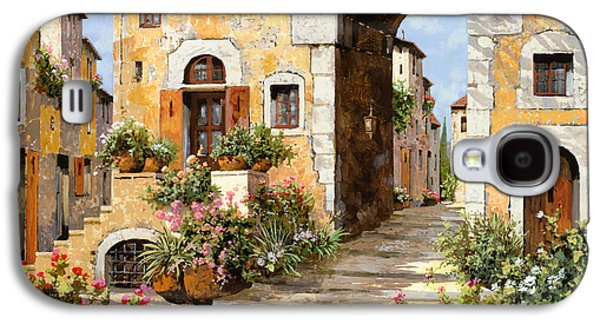 Entrata Al Borgo Galaxy S4 Case by Guido Borelli