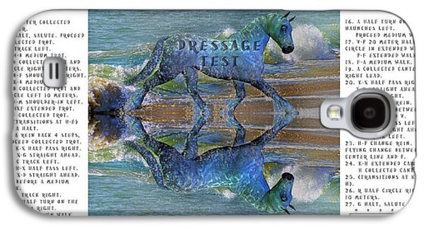 Epona Equine Dressage Test  Galaxy S4 Case by Betsy Knapp