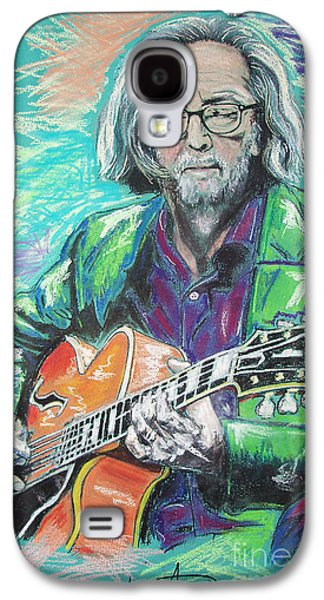 Eric Clapton Galaxy S4 Case by Melanie D