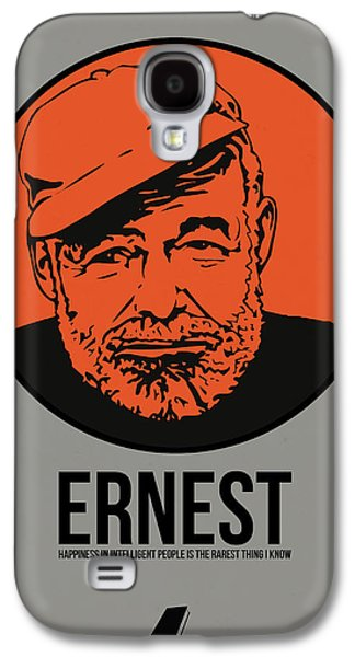 Ernest Poster 1 Galaxy S4 Case by Naxart Studio