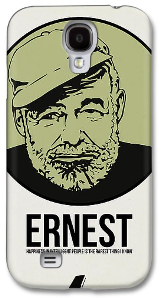 Ernest Poster 2 Galaxy S4 Case by Naxart Studio