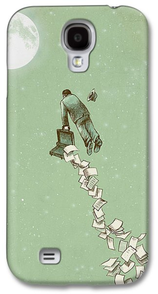 Fantasy Galaxy S4 Case - Escape by Eric Fan