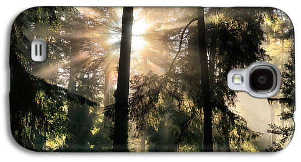 Etheral Forest Light Galaxy S4 Case