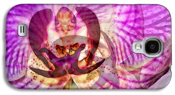 Ethereal Orchid By Sharon Cummings Galaxy S4 Case by Sharon Cummings