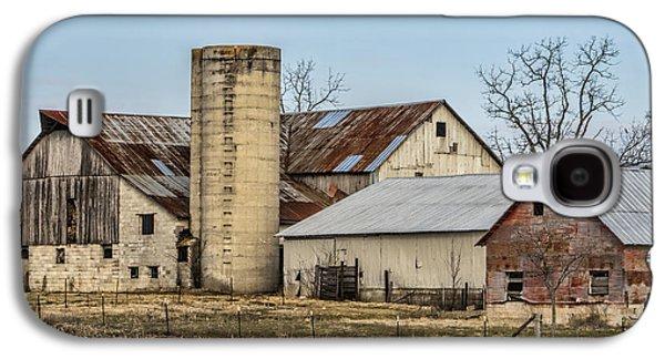 Ethridge Tennessee Amish Barn Galaxy S4 Case by Kathy Clark