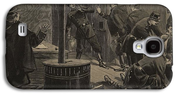 Dungeon Galaxy S4 Case - Etievant, The Anarchist Shoots by F.L. & Tofani, Oswaldo Meaulle