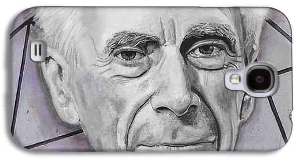 Euclid- Bertrand Russell Galaxy S4 Case by Simon Kregar