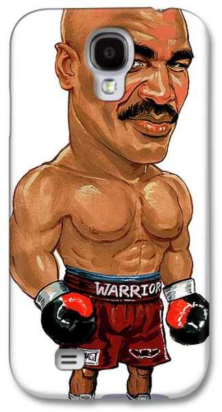 Evander Holyfield Galaxy S4 Case by Art
