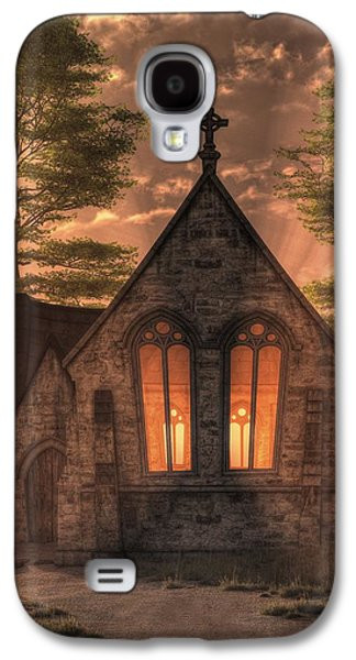 Evening Chapel Galaxy S4 Case by Christian Art