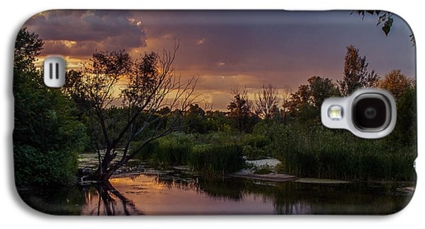 Evening Colors Galaxy S4 Case by Dmytro Korol