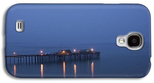 Galaxy S4 Case featuring the photograph Evening Enters Capitola by Lora Lee Chapman