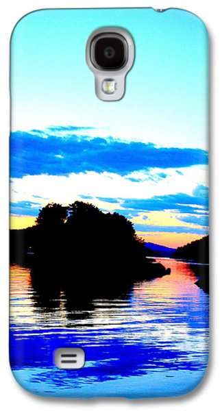 Wait For The Evening To Light Up Your Life  Galaxy S4 Case by Hilde Widerberg