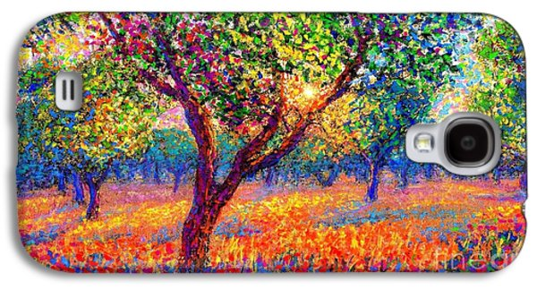 Evening Poppies Galaxy S4 Case
