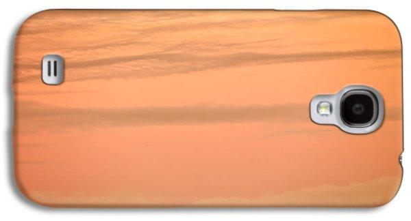 Evening Sky Galaxy S4 Case by Leland D Howard