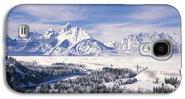 Evergreen Trees On A Snow Covered Galaxy S4 Case by Panoramic Images