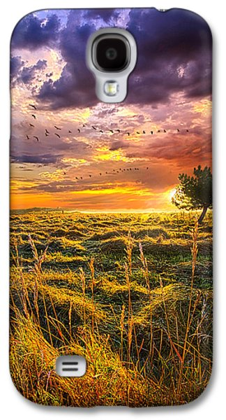 Every Story Has A Beginning Galaxy S4 Case by Phil Koch