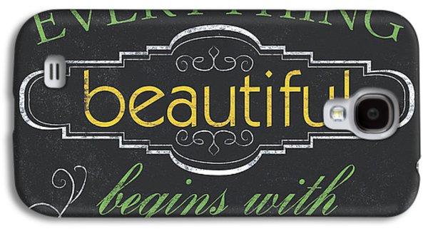 Everything Beautiful Galaxy S4 Case by Debbie DeWitt