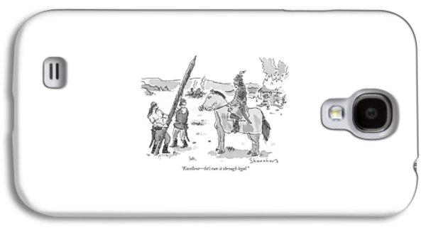 Excellent - Let's Run It Through Legal Galaxy S4 Case