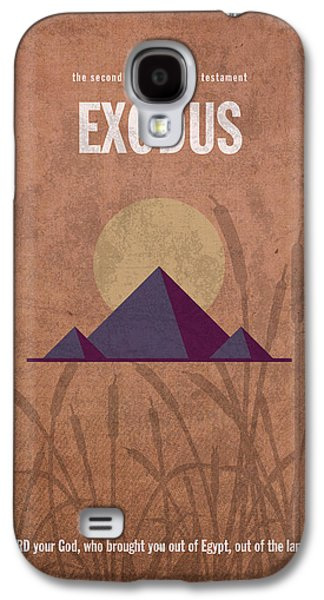 Exodus Books Of The Bible Series Old Testament Minimal Poster Art Number 2 Galaxy S4 Case