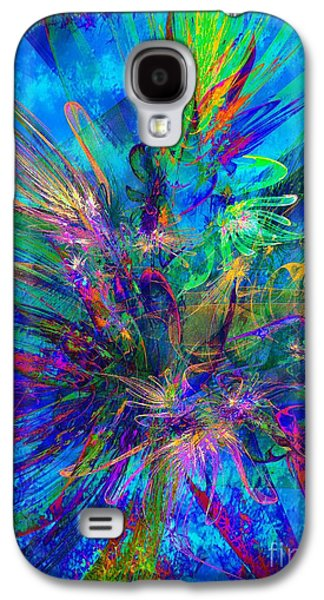 Exotic Dream Flower Galaxy S4 Case