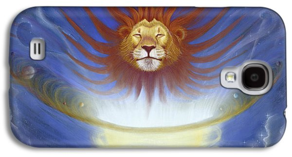 Expansive Lion Galaxy S4 Case by Robin Aisha Landsong