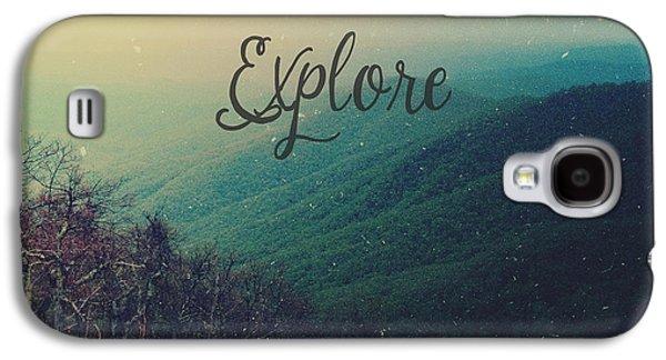 Explore Galaxy S4 Case by Joy StClaire
