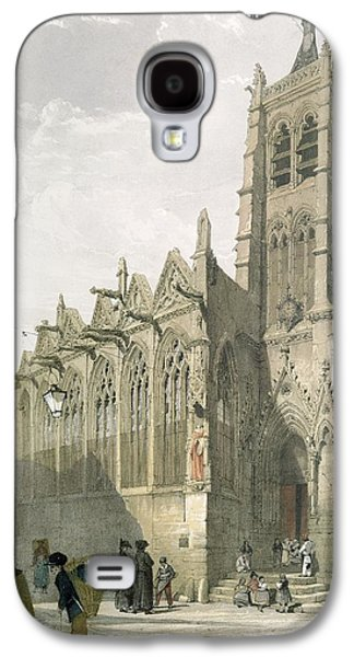 Exterior Of The Church Of St. Severin, Paris Galaxy S4 Case by Thomas Shotter Boys